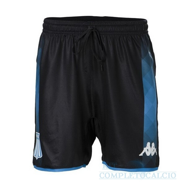 Away Pantaloni Racing Club 2019 2020 Nero Maglie Calcio Thailandia