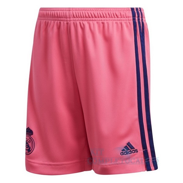 Away Pantaloni Real Madrid 2020 2021 Rosa Maglie Calcio Thailandia